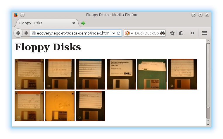 index of floppies screenshot